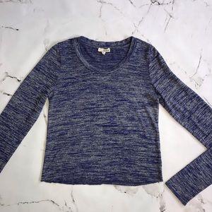 Wilfred Free Blue Long Sleeve Shirt Medium